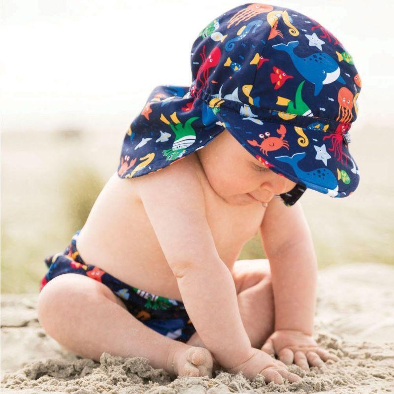 Gorra Protector Solar Bebé y Niño oceano