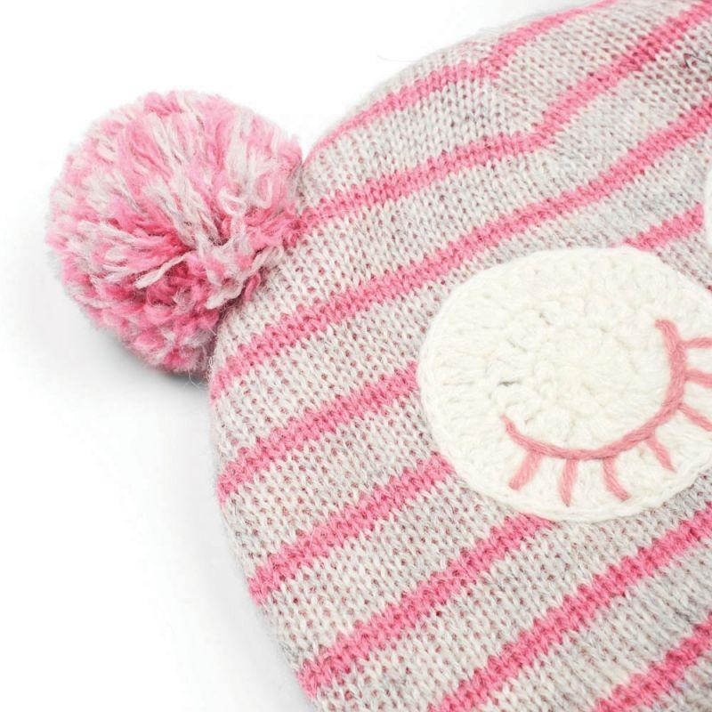 Gorro de lana para niña