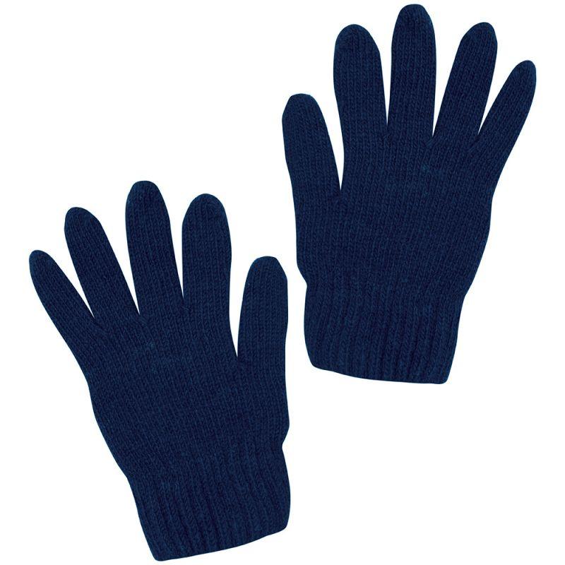 Guantes de lana para Niño en Color Azul