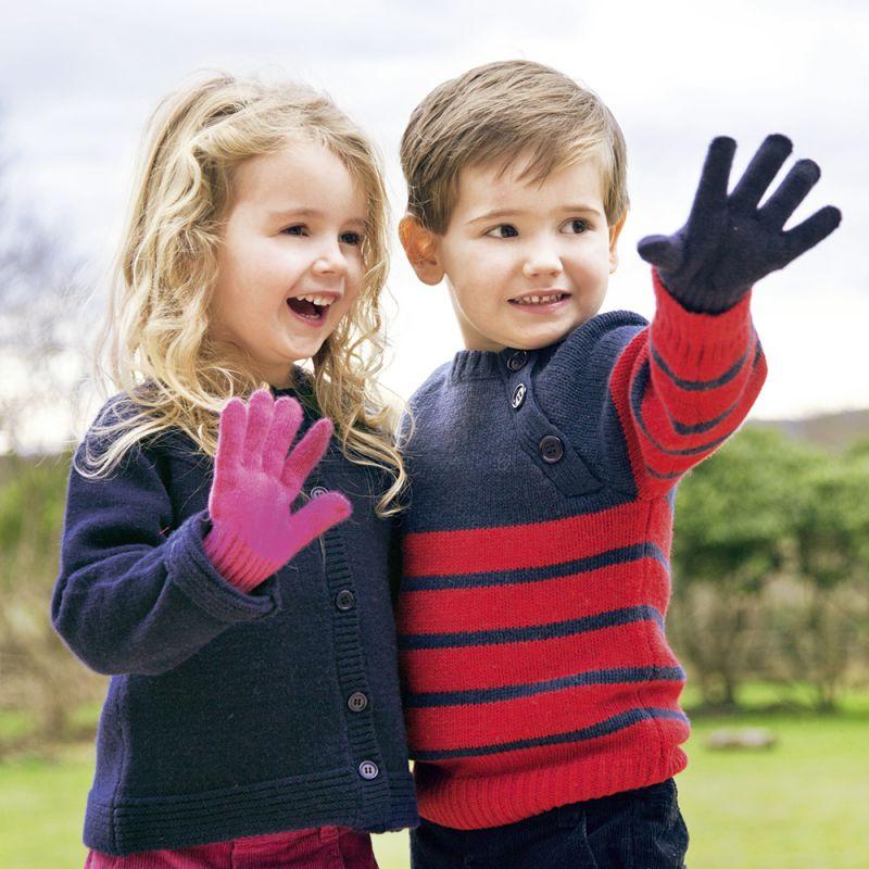 Guantes de lana para Niño