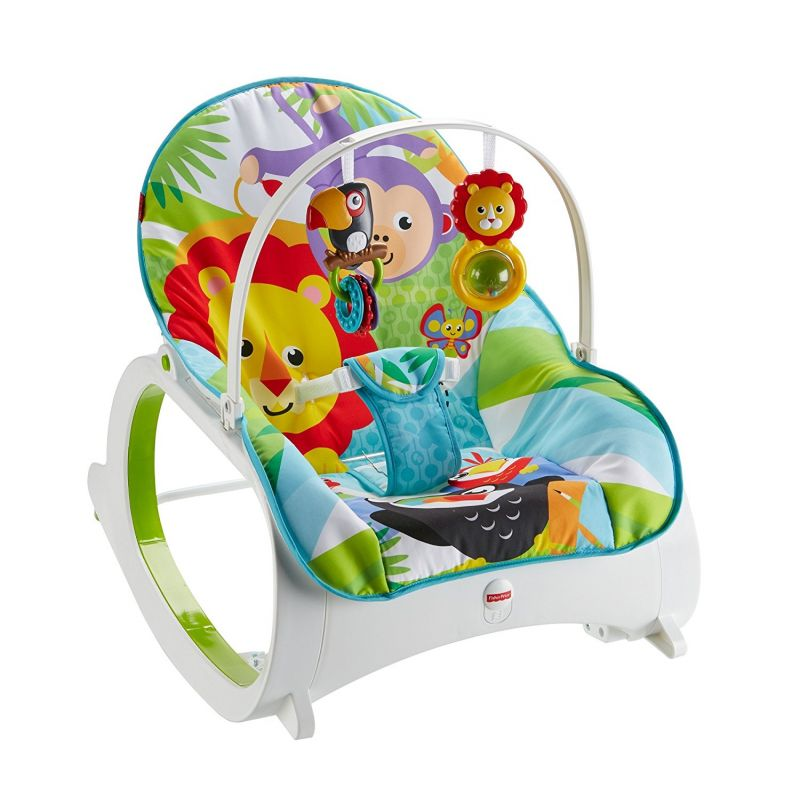 Hamaca Balancín Fisher Price Rainforest