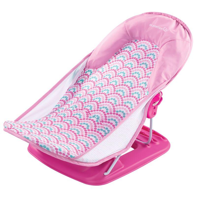 Hamaca de Baño Deluxe rosa - Summer Infant