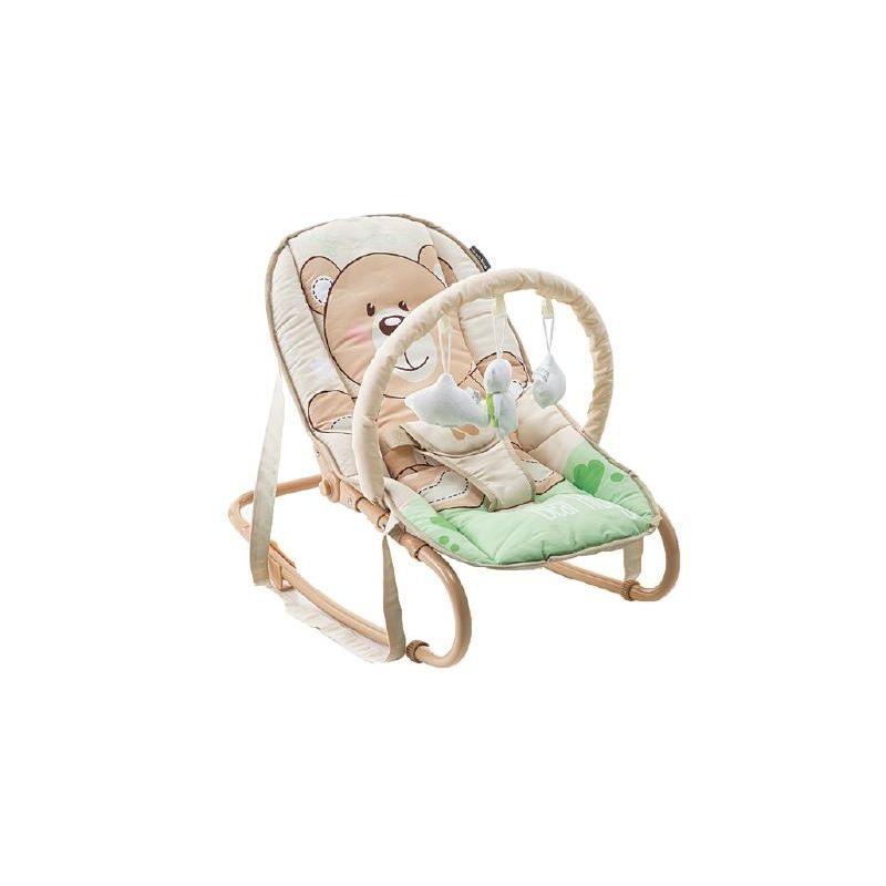 Hamaca para Bebés Foliage osito - Kikkaboo