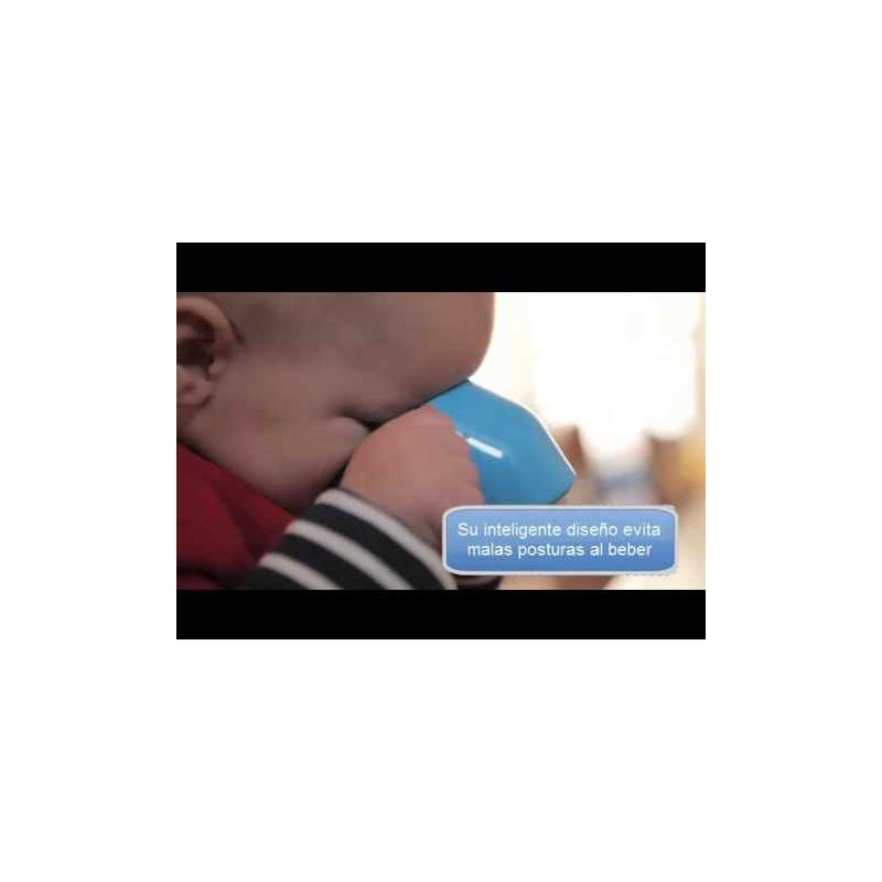 Video Vaso de aprendizaje para bebés de Doydy. Azul