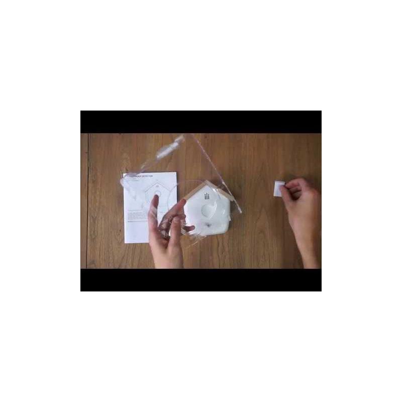 Video Detector de Humo con forma de Pajarera