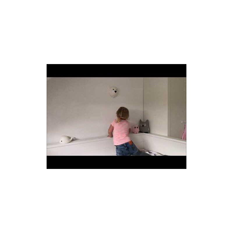 Video Lámpara de Pared Oso Polar