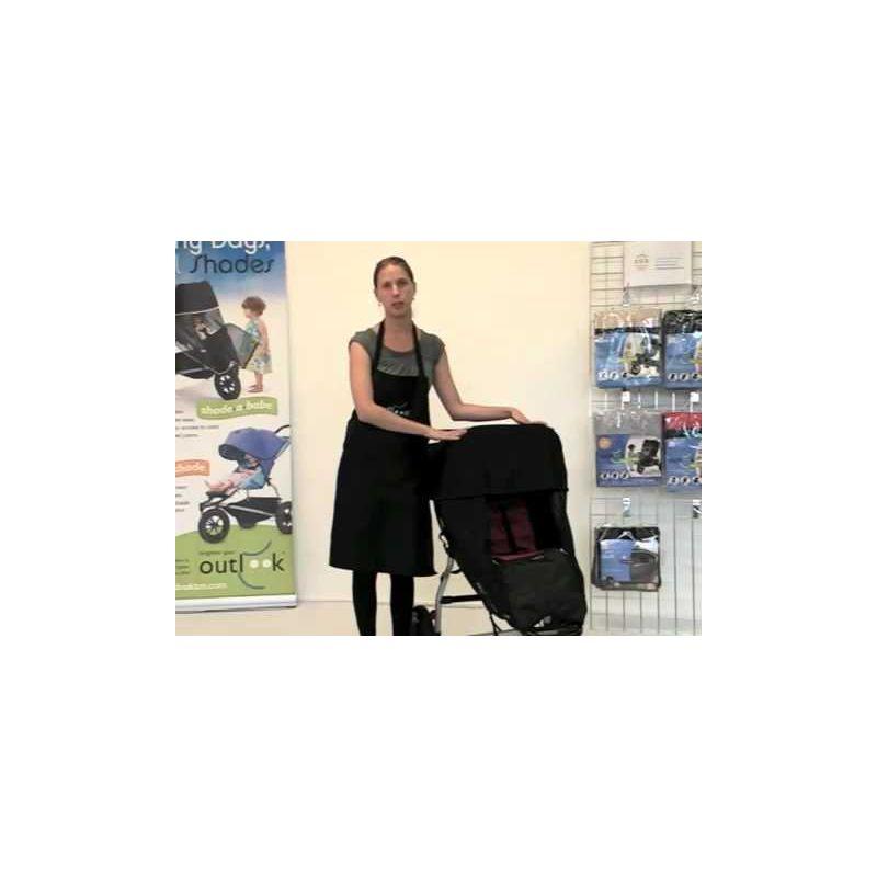 Video Protector Sol e Insectos para silla de paseo de Shade-a-Babe