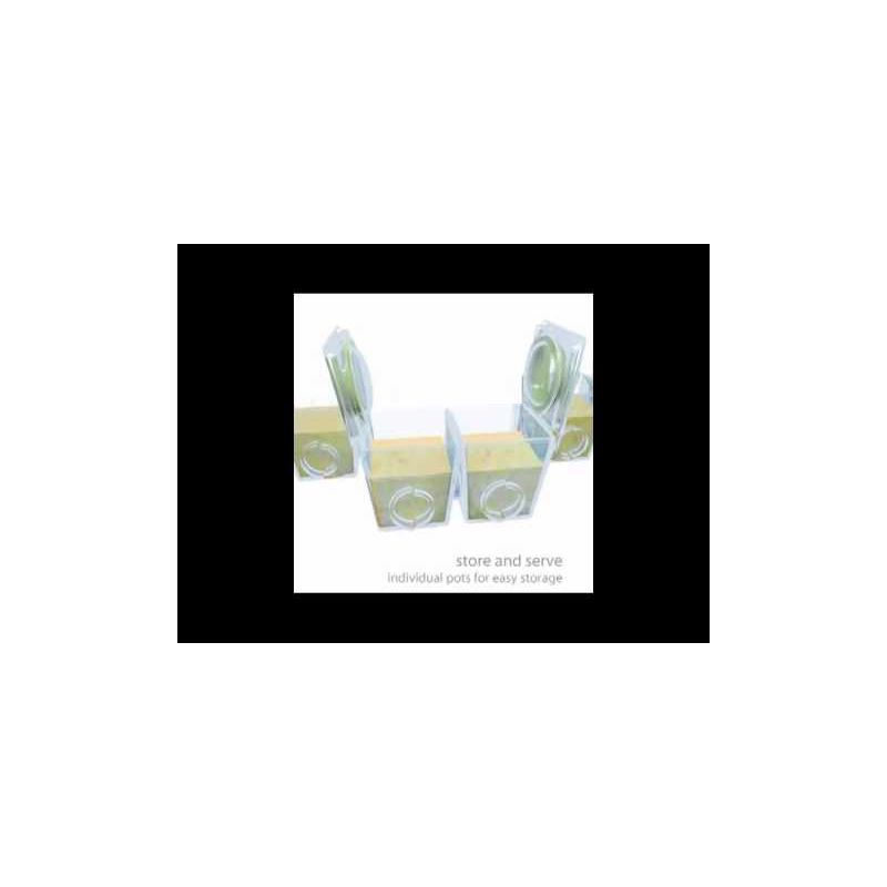 Video Envases para Congelar papillas Brother Max 6 * 40 ML