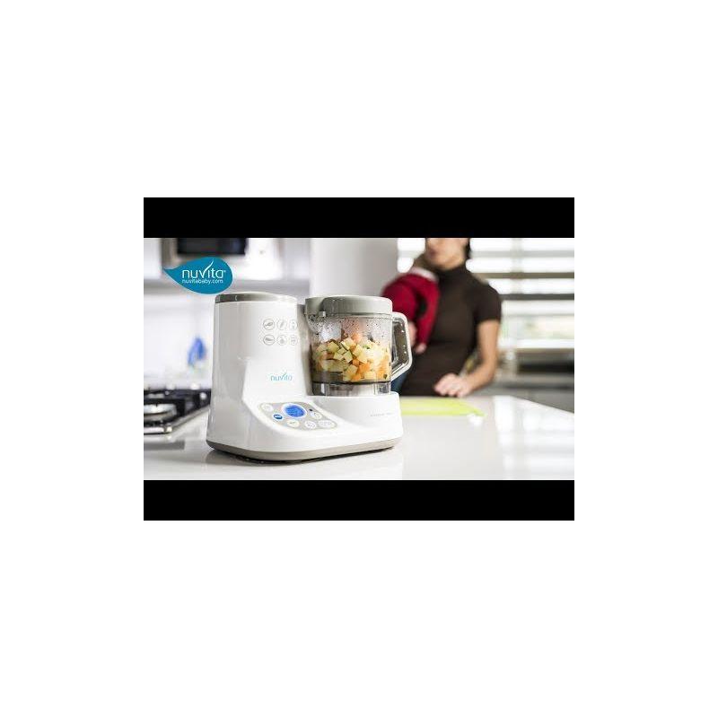 Video Mini Robot de Cocina y Calientas Biberones Pappasana - Nuvita