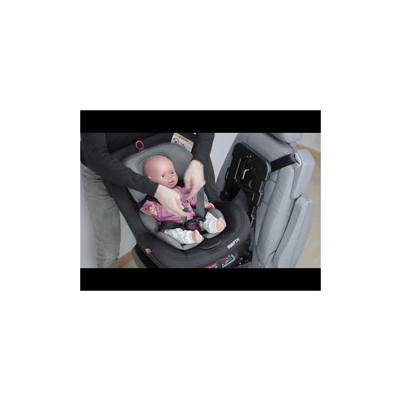 Video Silla de coche Biro Fix Babyauto Grupo 0+/1/2 con Sistema de Rotación 360º