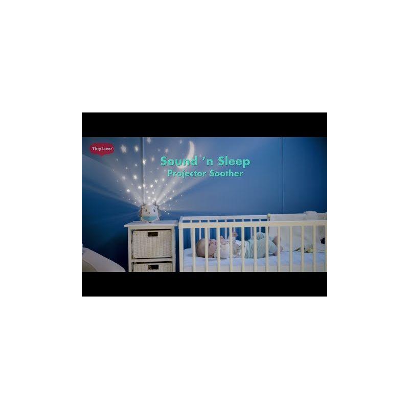 Video Proyector de luz estelar, sensor de llanto y Mp3 Sueño Profundo Tiny Love