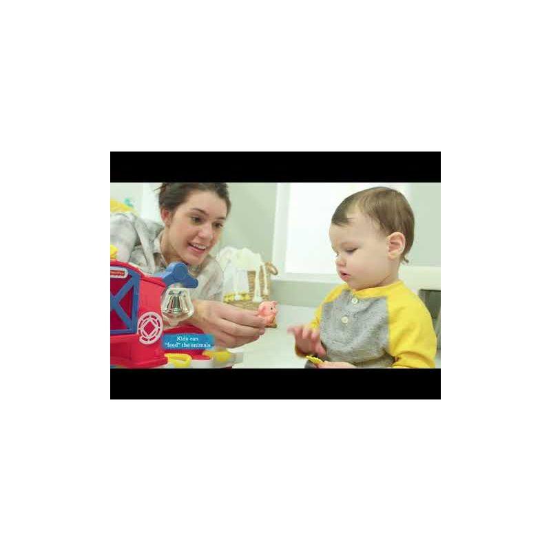 Video Granja Sensorial Fisher Price Little People - A partir de 1 año