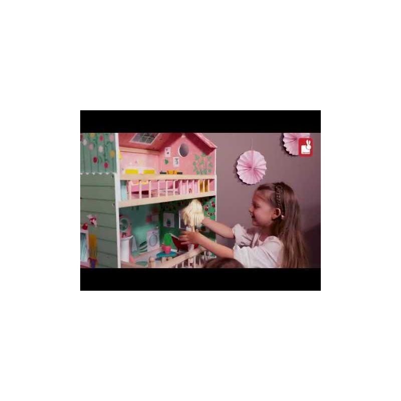 Video Casa Muñecas de madera Mademoiselle - Janod