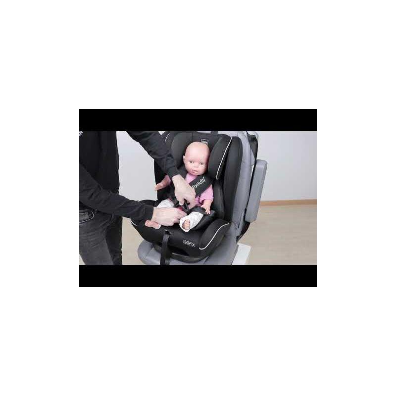 Video Silla de Coche Sinnom Grupo 123 con Isofix - Babyauto - OFERTA BLACK FRIDAY