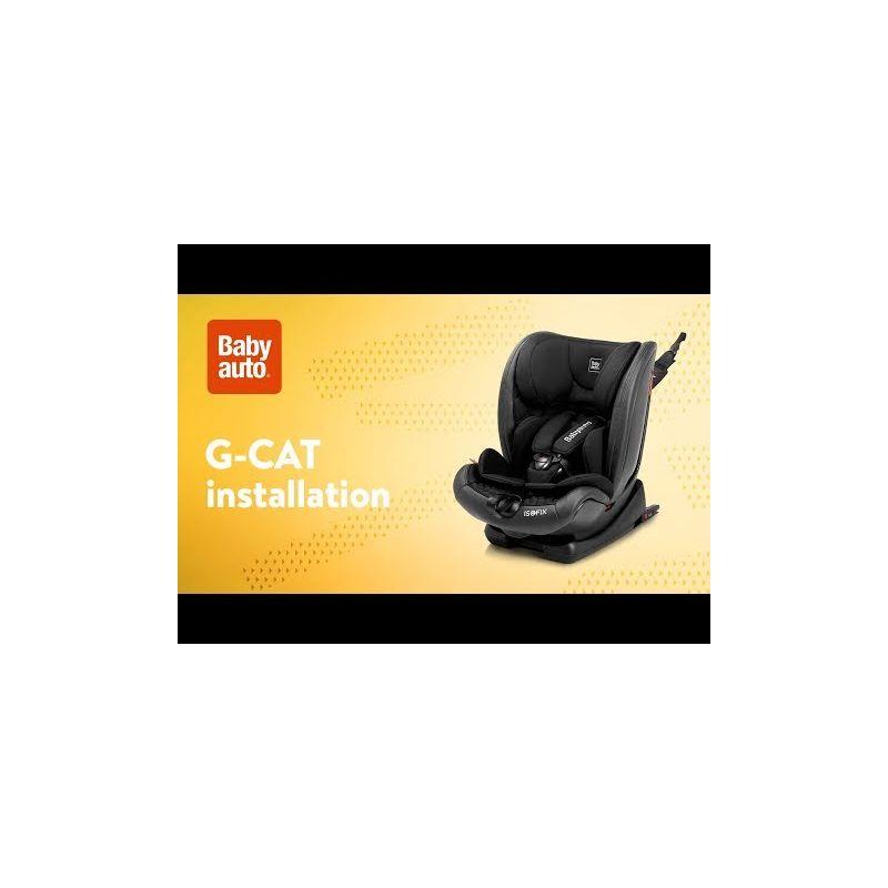 Video Silla de Coche G-Cat Grupo 123 con Isofix - Babyauto - PRECIO ESPECIAL REBAJAS