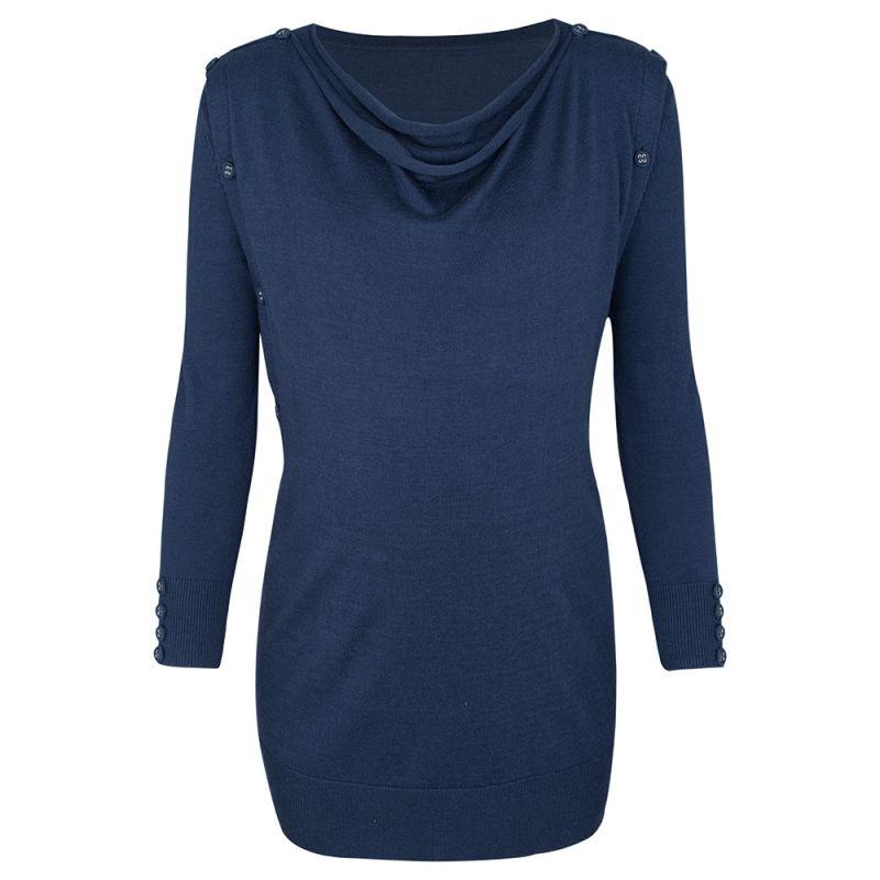 Jersey de Embarazo y Lactancia azul