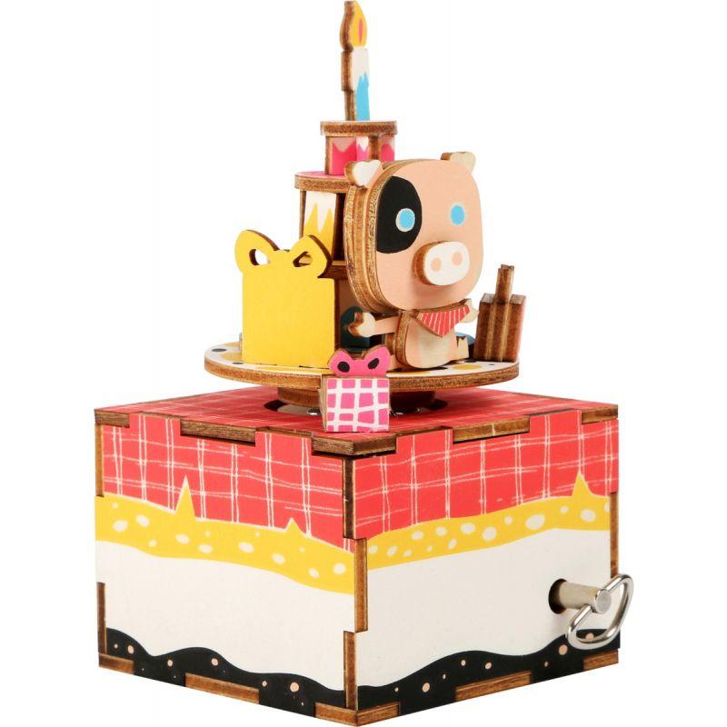 Juego de construcción Caja de Música Cumpleaños