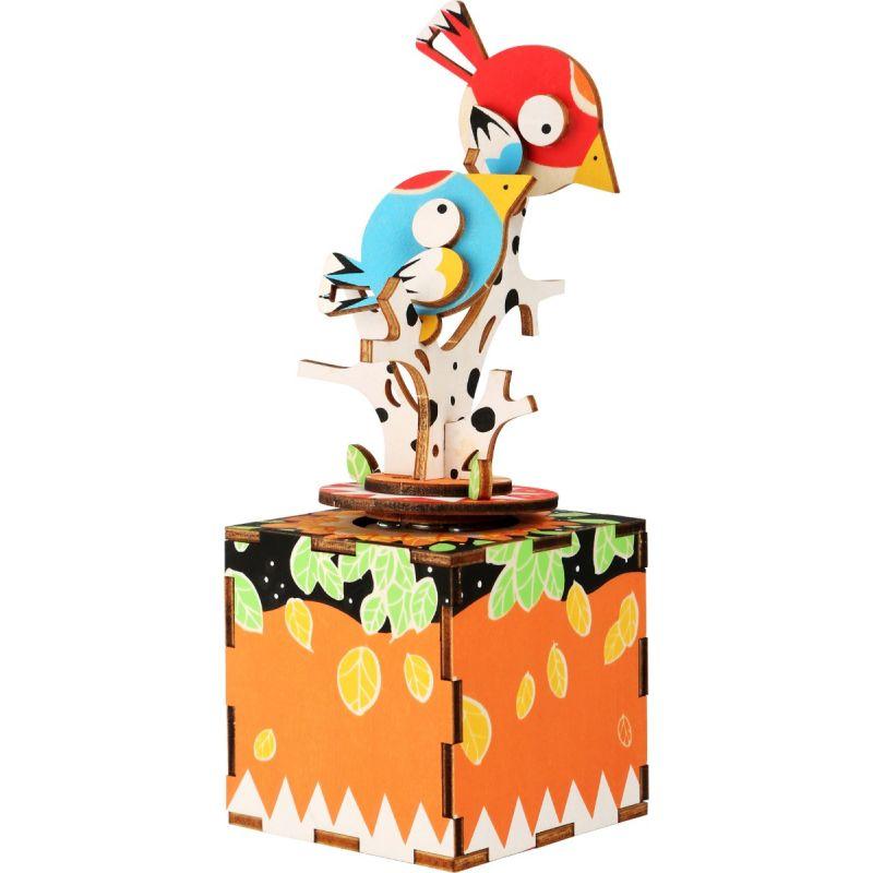 Juego de construcción Caja de música Pájaros