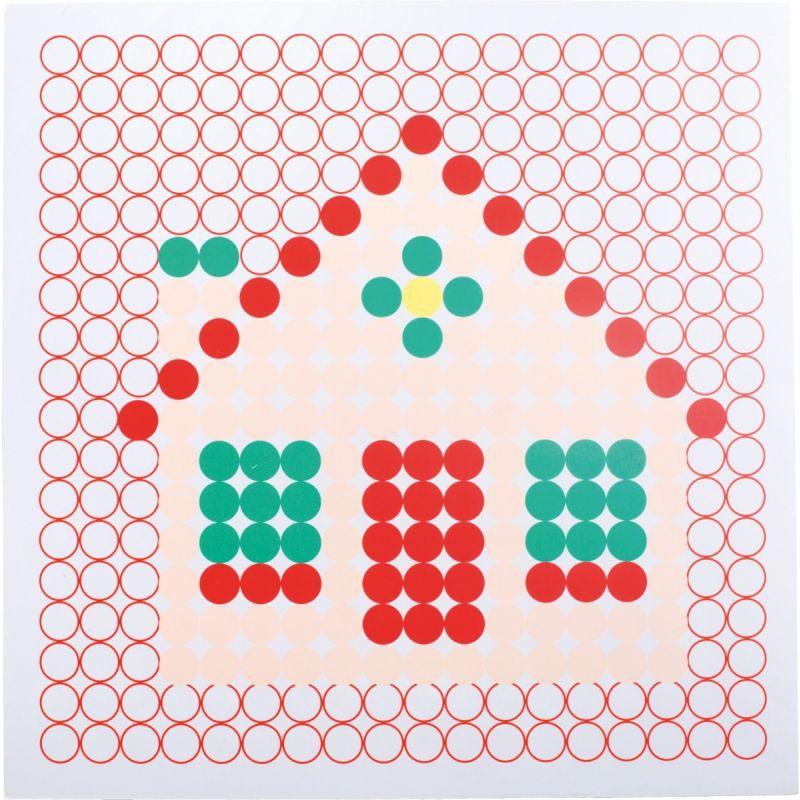 Juego de mesa Motivos Coloridos casa