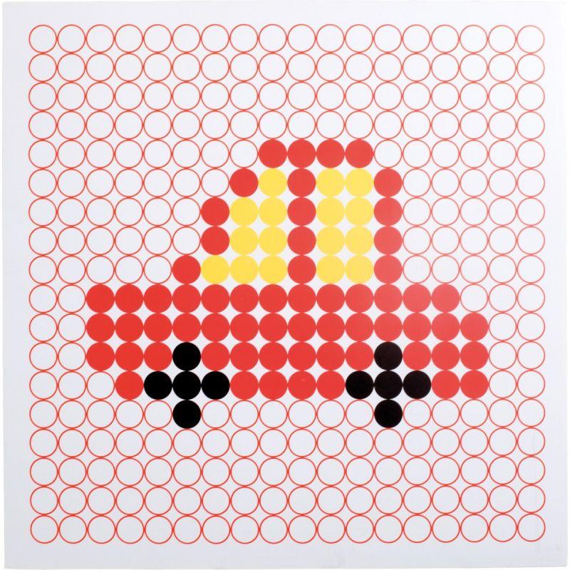 Juego de mesa Motivos Coloridos  coche