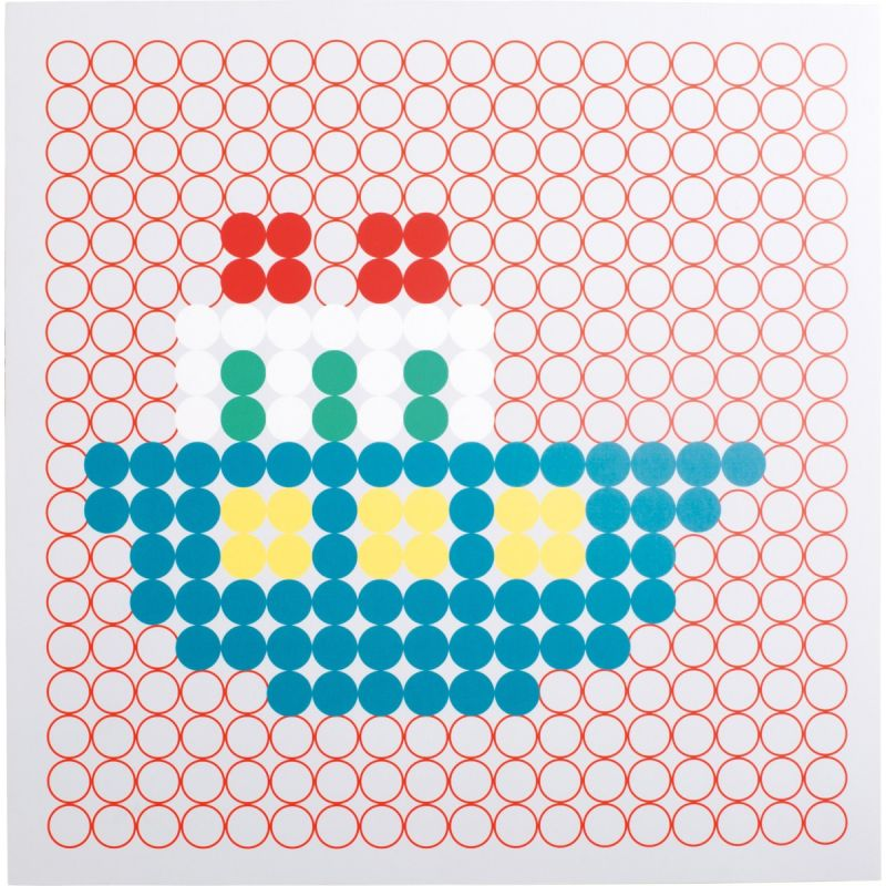Juego de mesa Motivos Coloridos barco