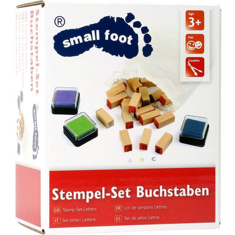Juego de tampones con Letras  small foot company