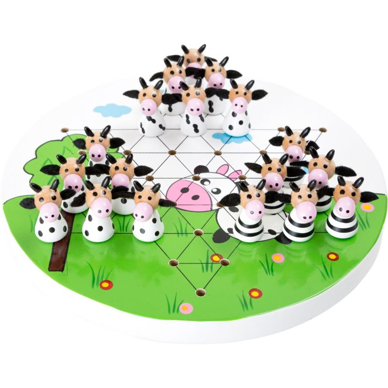 Juego Damas Chinas  , Vacas - A partir de 5 años