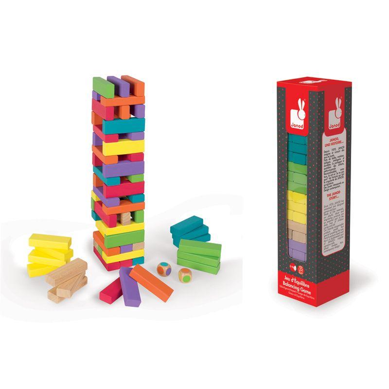Juego de Equilibrio de madera 62 piezas - Janod