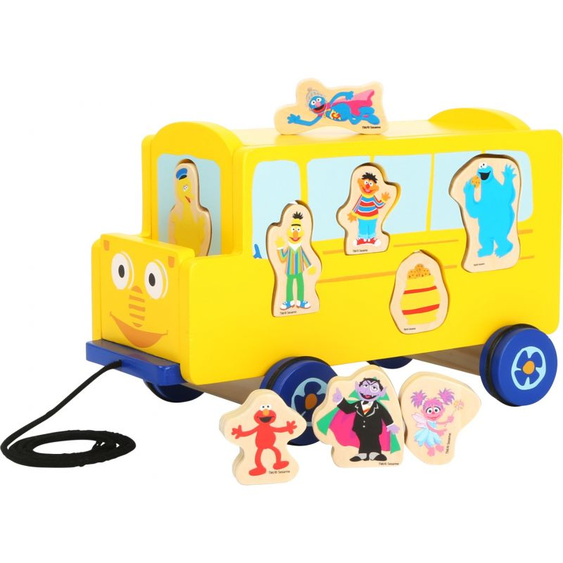 juguete autobus de madera