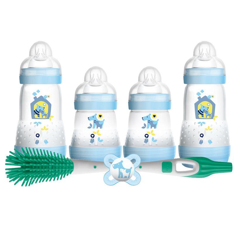 Set de biberones anticólicos Mam azul