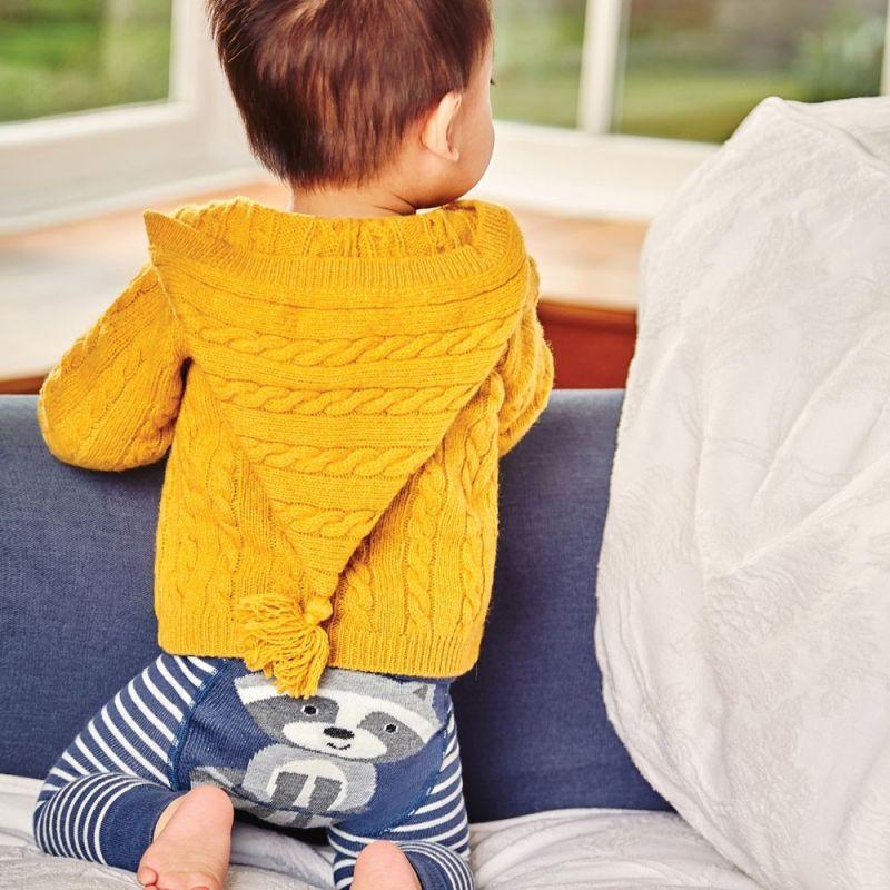 Leggings de Punto para Bebé y Niño Mapache