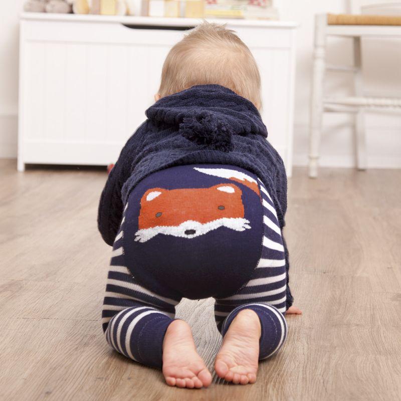 Leggins bebé y niño estampado zorrito
