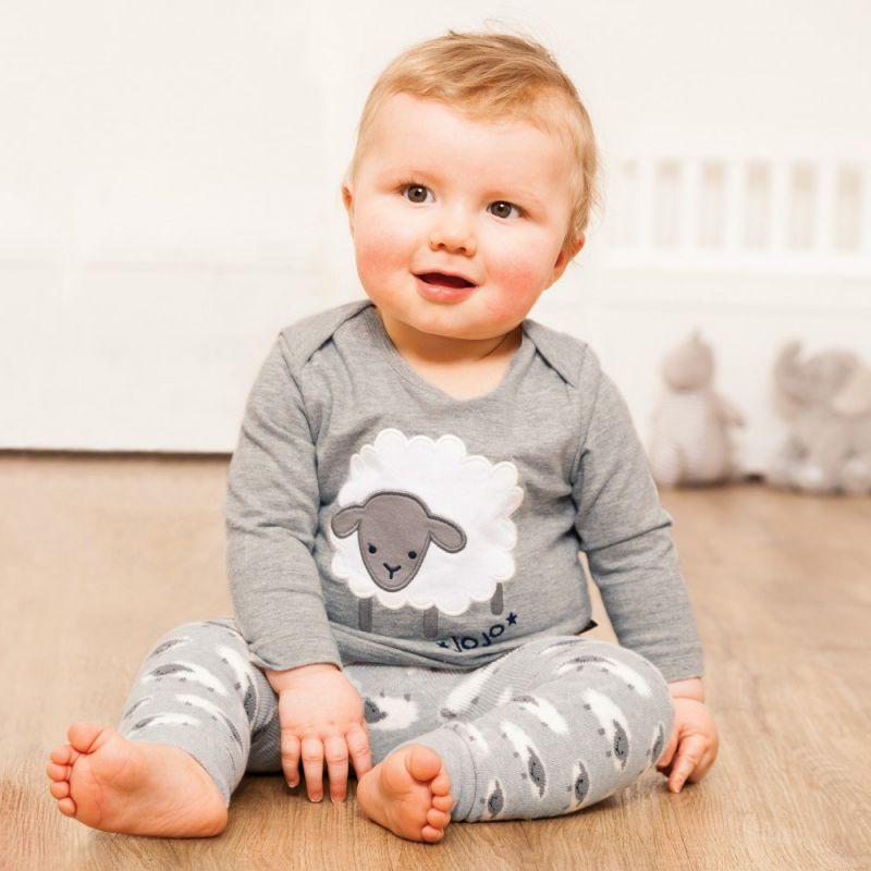 Leggings Bebé y Niño Gruesos de Ovejitas