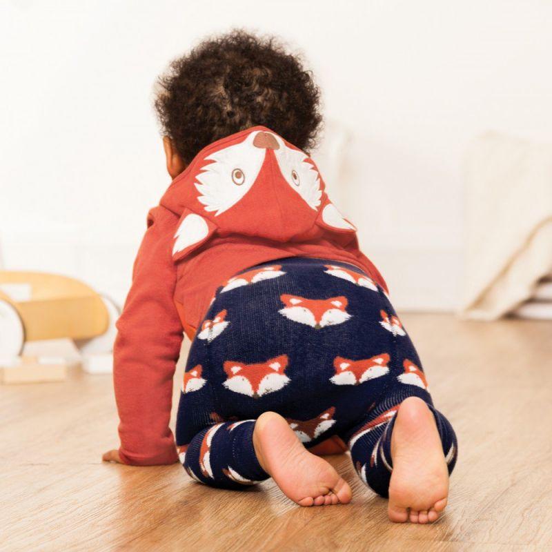 Leggings Bebé y Niño Gruesos de Zorritos