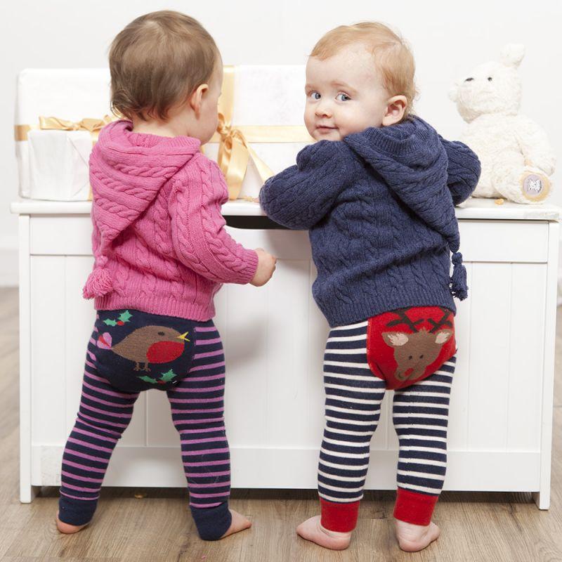 Leggings para Bebés y Niños con Estampado Robin