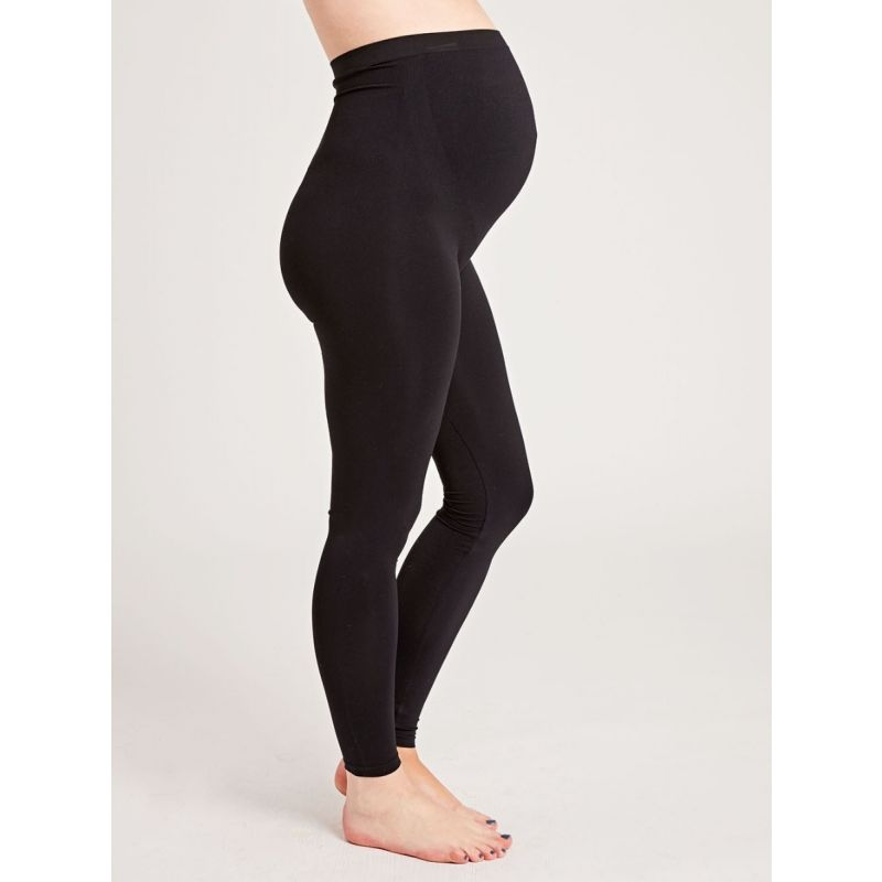 Leggings Premamá de color Negro Extra Elásticos