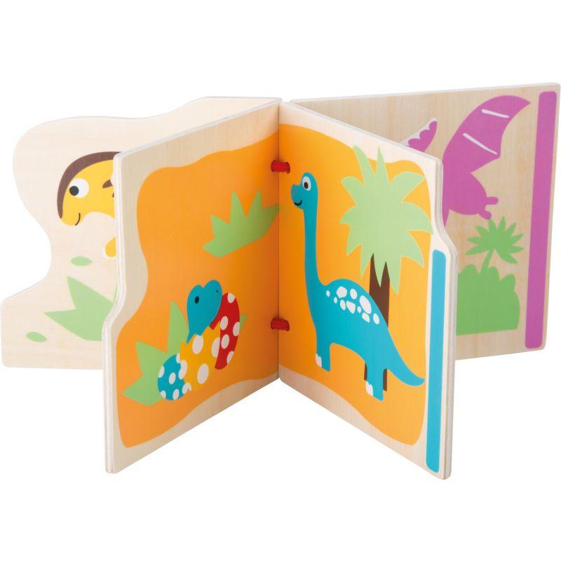 Libro de Madera Mis primeros dinosaurios
