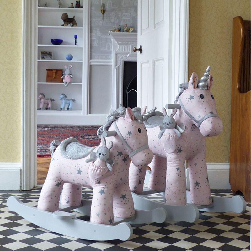 unicornios balancín