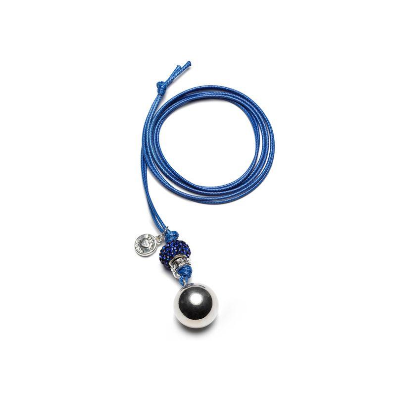 Llamador Ángeles Pedrería en color azul