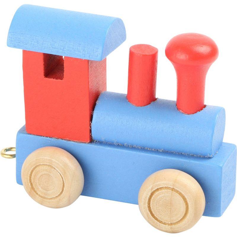 locomotora roja y azul tren de colores de numeros