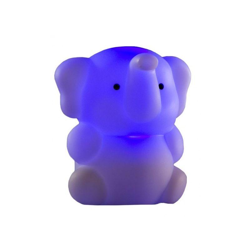 Luz Quitamiedos Recargable Elefante azul de Isi Mini