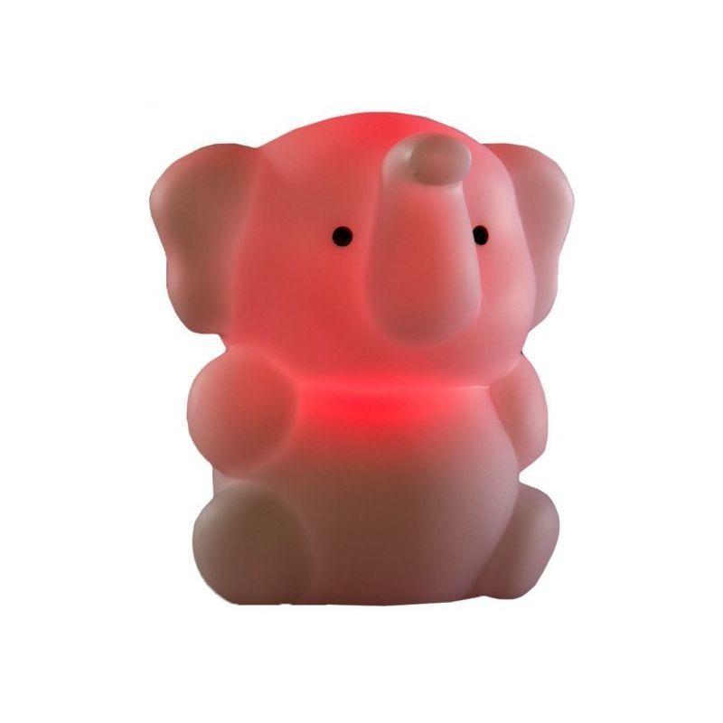 Luz Quitamiedos Recargable Elefante Rojo de Isi Mini
