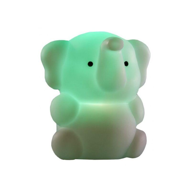 Luz Quitamiedos Recargable Elefante verde de Isi Mini