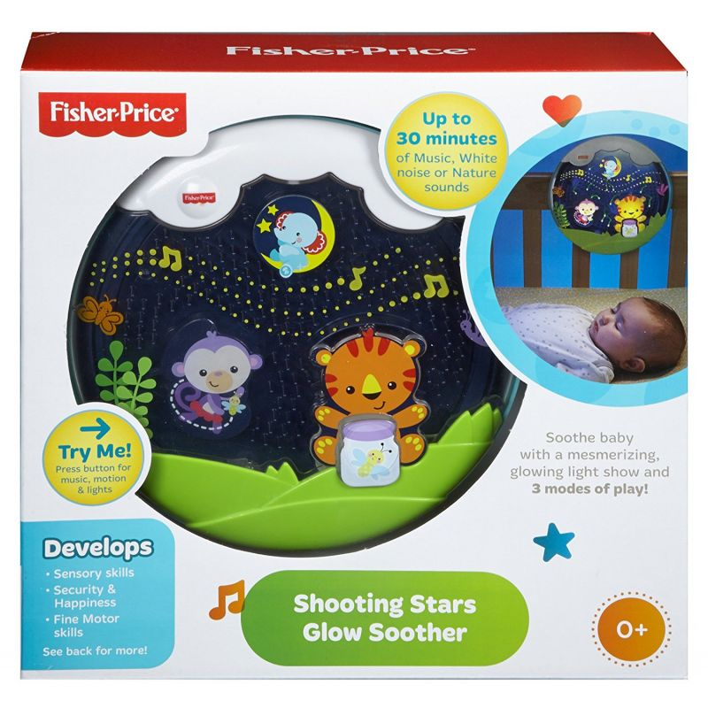 Móvil Musical de Cuna Glow Motion Fisher-Price