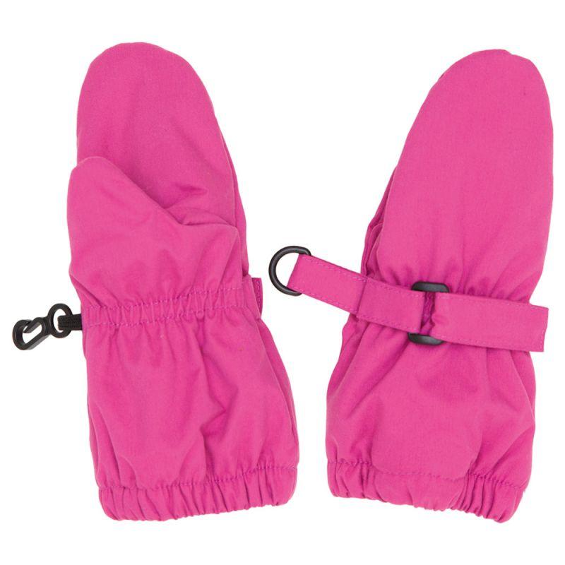 Manoplas Impermeables para Niños en color rosa