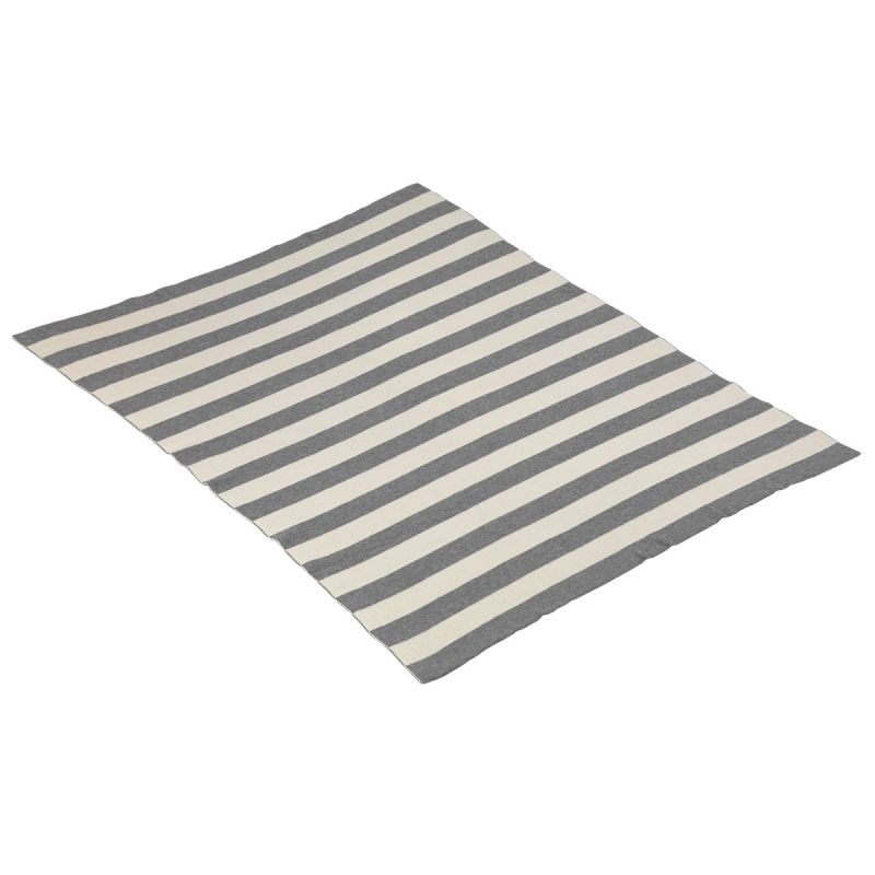 Manta de Algodón City 80 x 100 cm color gris - Cambrass