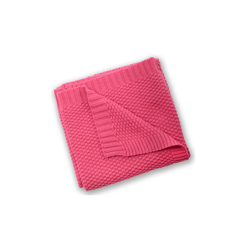 Manta de Algodón para Bebés Silvercloud color Frambuesa