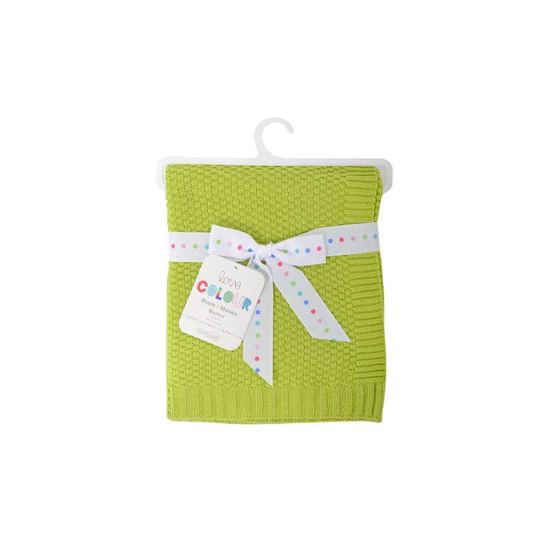 Manta de Algodón para Bebés Silvercloud color Lima