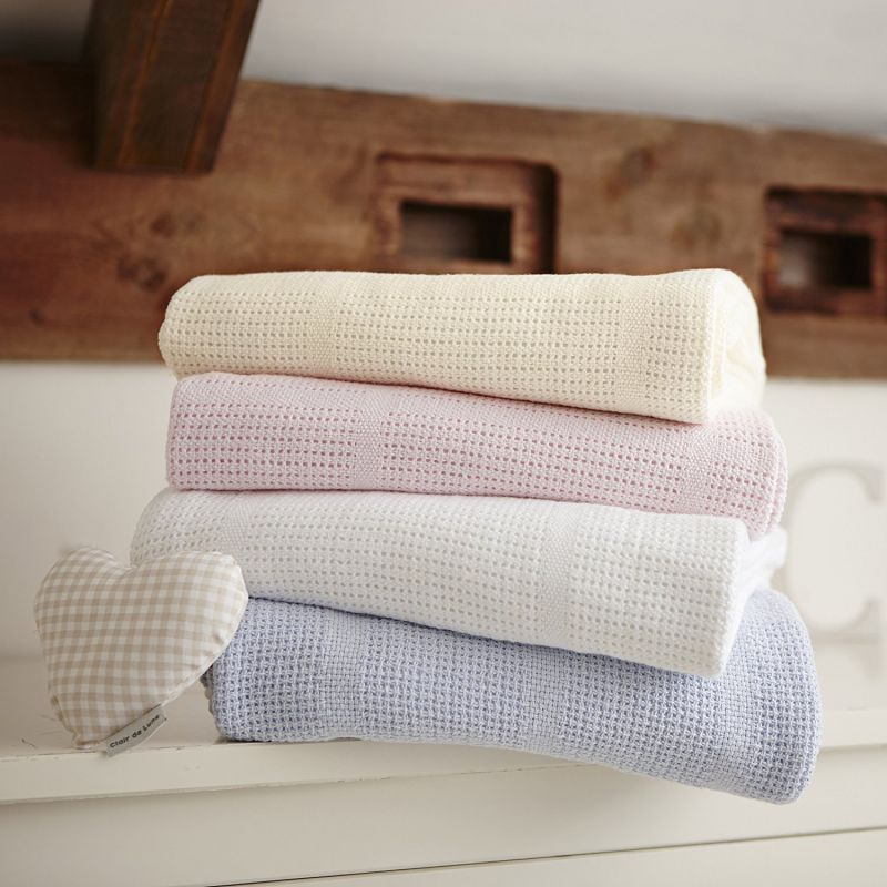 Manta de algodón para Cochecito y de Viaje