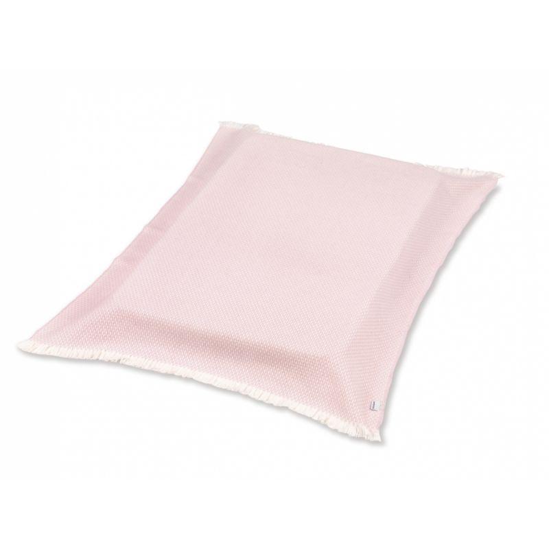 Manta Plaid rosa 75 x 110 cm - Cambrass
